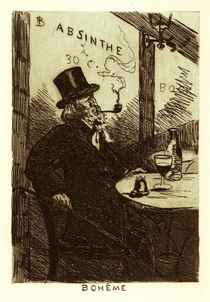 'Boheme', 1910.