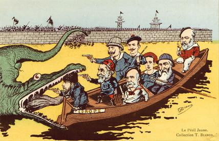 'Le Peril Jaune', c 1910.