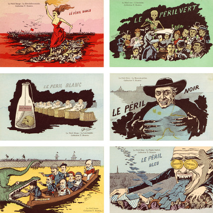 'Les Perils', c 1910.