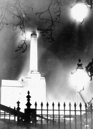 Battersea Power Station, London, 5 April 1934.