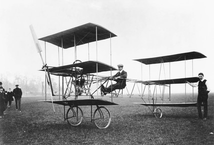 Roe Triplane at Lea Marshes, 1909