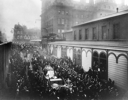Funeral procession of Queen Victoria, 2 February 1901.