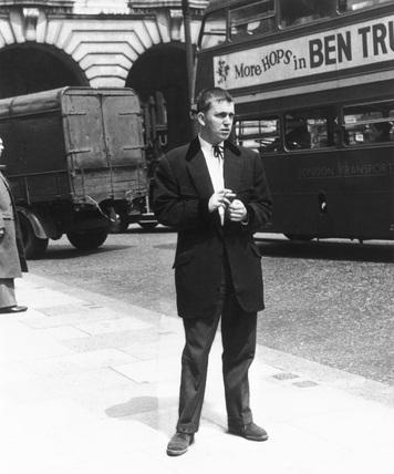The Teddy Boy suit, 1956.