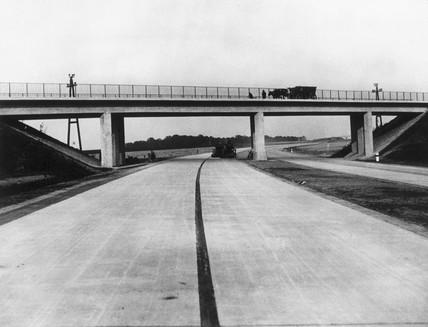 German State Motor Road, c 1936.