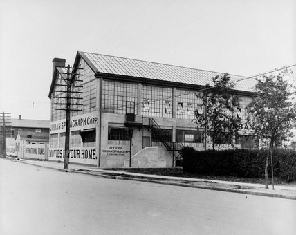 Urban film studio, 1919.