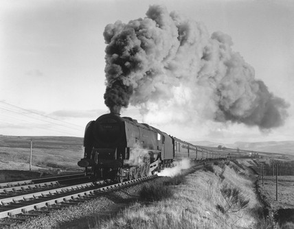 'Duchess of Sutherland' steam locomotive, Cumbria, c 1950s.