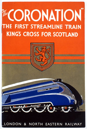 'The Coronation', LNER poster, 1937-1939.