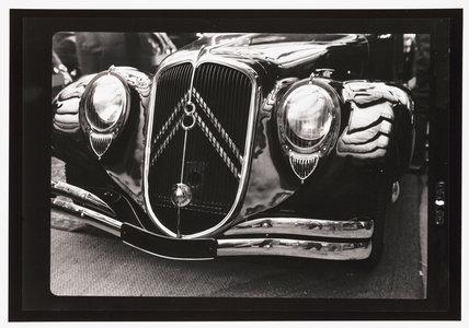Citroen V8 prototype saloon car, 1930s.