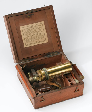 Richards' steam engine indicator, 1862.