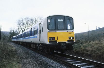Sprinter train, c 1980s.