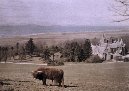 Highland Castle, Scotland, c 1920.