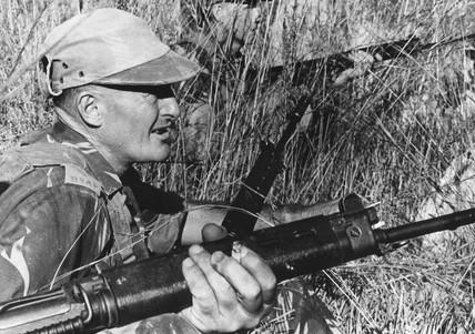 'John Monks somewhere in Rhodesia', 9 April 1973.