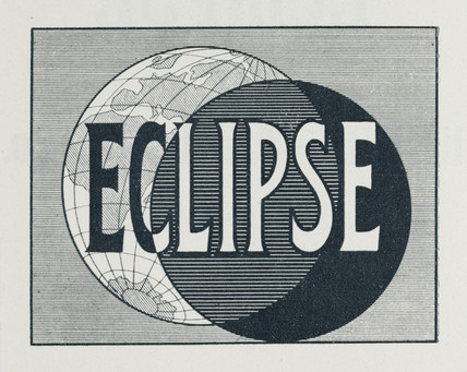 'Eclipse' logo, 1909.
