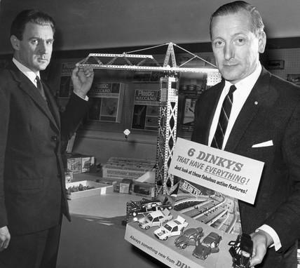 Meccano and Dinky toys, January 1968.