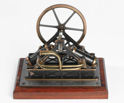 Diagonal Oscillating Engine, 19th century.