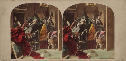 'The Last Look', c 1875.