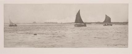 'On Breydon Water – Sea-Fog Coming Up', 1887.