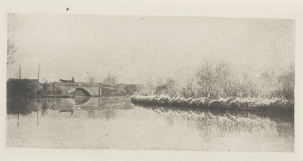 'A Frosty Morning at Coltishall', 1893.