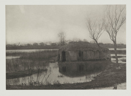 'A Reed Boat House', 1886.