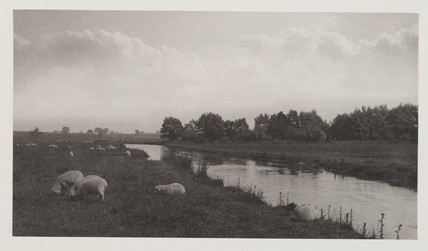'On The River Bure', 1886.