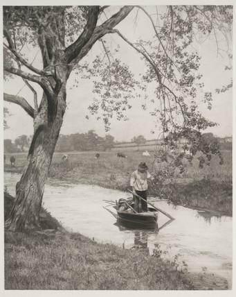 'A Suffolk Dike', 1887.