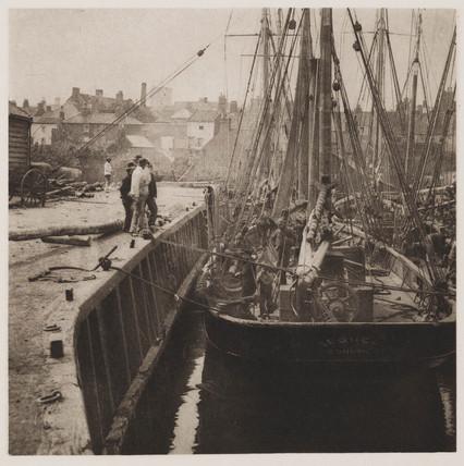 'In Dock', 1890.