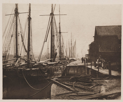 'The Quays at Dinner-Time', 1890.