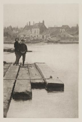 'On The Baulks', 1890.