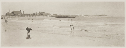 'On Gorleston Sands', 1890.