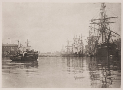 'The Peaceful Harbour', 1890.