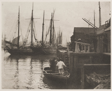 'The Ferry', 1890.