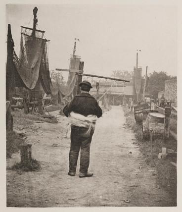 'A Rope-Walk', 1890.