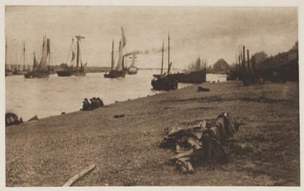 'Bound for The North Sea', 1890.