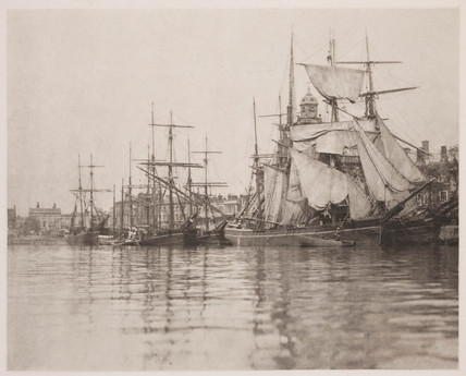 'Great Yarmouth Harbour', 1890.