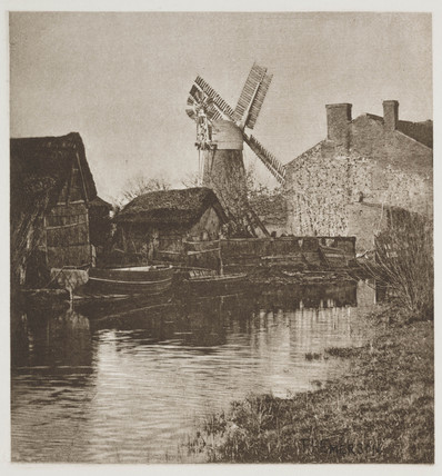 'The Windmill', 1887.