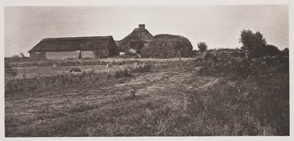 'A Lowland Farmstead', 1887.