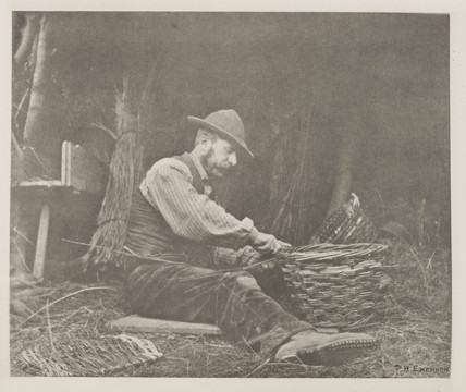 'The Basket-Maker', 1888.