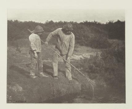 'Eel-Picking in Suffolk Waters', 1888.