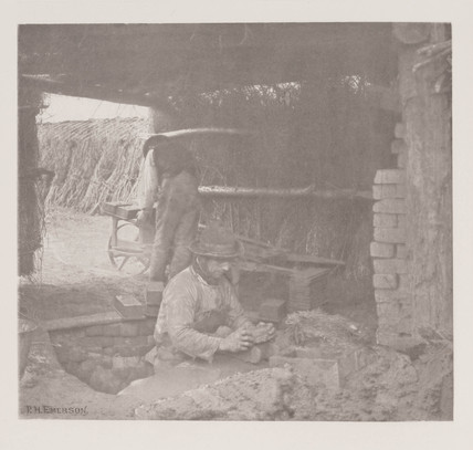 'Brickmaking', 1888.