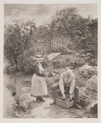 'A Garden End', 1888.