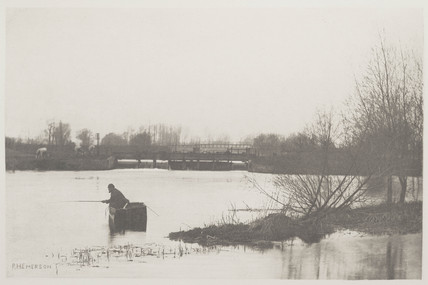 Fields Weir, Near Rye House, 1888.