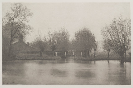 Mouth of the Old River Stort, 1888.