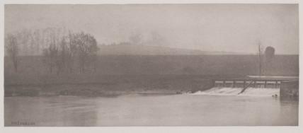A Rainy Day at Flander's Weir, 1888.