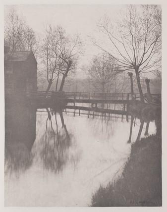 Footbridge near Chingford, 1888.