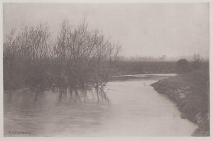 The Lea, near Tottenham, 1888.
