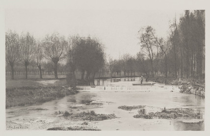 The Shoot, Amwell Magna Fishery, 1888.