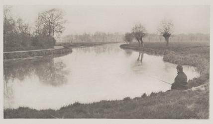 The Black Pool, near Hoddesdon, 1888.