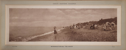 'Mundesley-On-Sea, The Beach', c 1890.