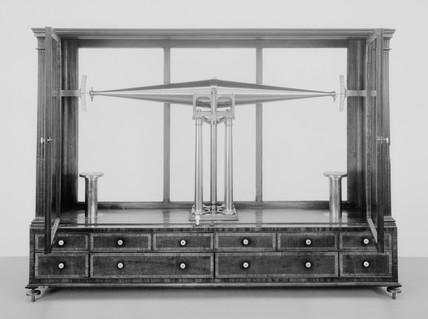 Hydrostatic balance, 1785-1789.