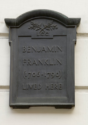 Benjamin Franklin's House, London, 2006.